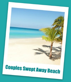 Couples Swept Away Negril Jamaica beach