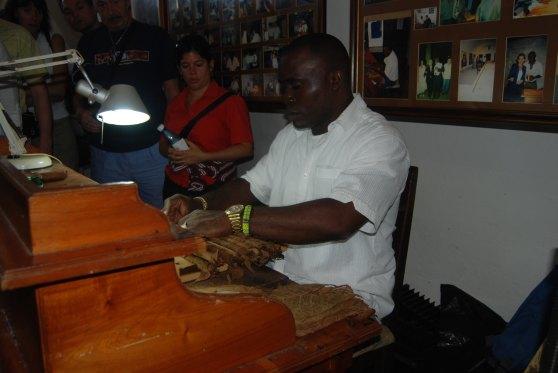 Cuba cigars cigar making