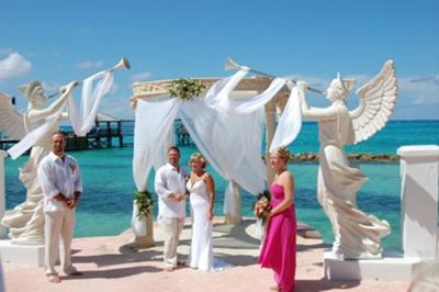 Our wedding at Sandals Royal Bahamian Resort